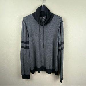 Express Funnel Neck Terry sweatshirt XL